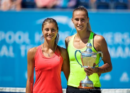 SUNDAY – Hercog wins the 2017 Women's Singles Title