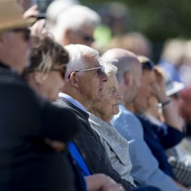 LIVERPOOL, ENGLAND - Thursday, June 21, 2018: Spectators look on during day one of the Williams BMW Liverpool International Tennis Tournament 2018 at Aigburth Cricket Club. (Pic by Paul Greenwood/Propaganda)