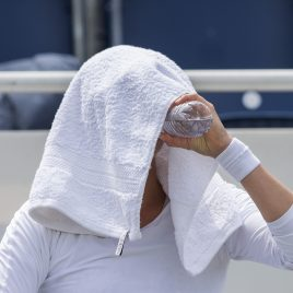 LIVERPOOL, ENGLAND - Saturday, June 23, 2018: Vera Zvonareva (RUS) during day three of the Williams BMW Liverpool International Tennis Tournament 2018 at Aigburth Cricket Club. (Pic by Paul Greenwood/Propaganda)