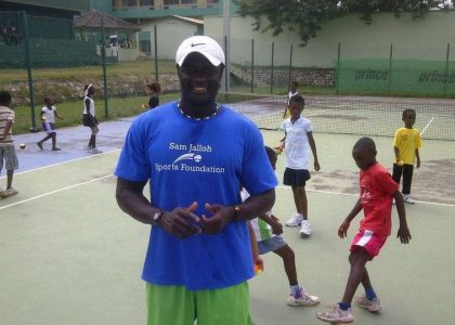 Read all about the Liverpool  International tennis coach Sam Jelloh incredible journey